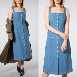 Levis Made & Crafted Light Neppy Chambray Sundress